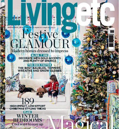 Dec 2016 LivingETC cover in Nonci Nyoni portfolio www.noncinyoni.com
