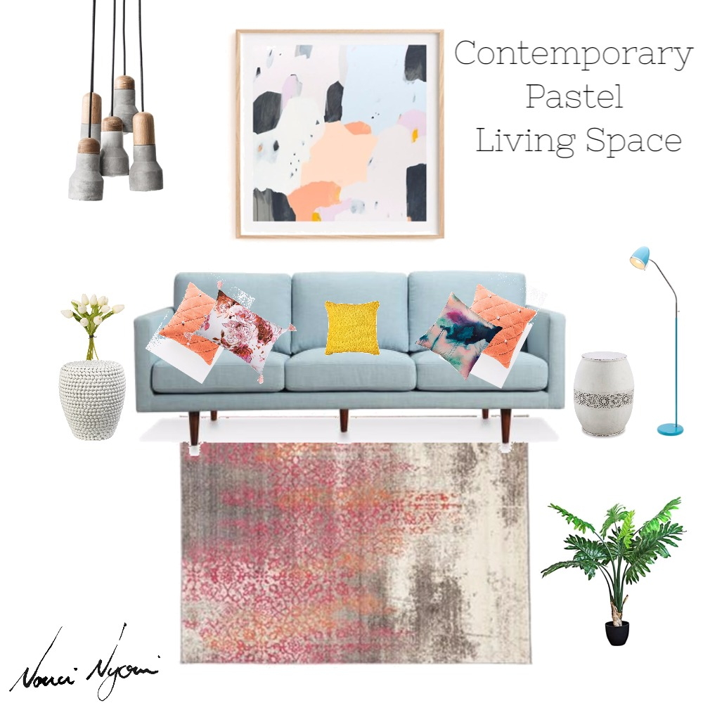 Modern Entrance Hall mood board created on Style Sourcebook by Nonci Nyoni