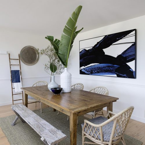 Beach House- Mornington Peninsula Styling Project for Katie Sargent Design, Assisted by Nonci Nyoni